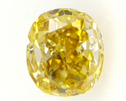 0.12 cts ,Oval Modified Cut , Natural Colored Diamond