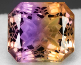17.67 Cts Bolivian Ametrine Stunning Luster & Cut Gemstone  AT1