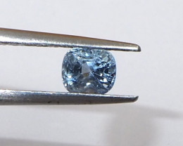 0.79ct unheated sapphire