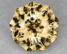 2.26 Ct  Zircon Awesome Color and Top Cut Gemstone ZF8