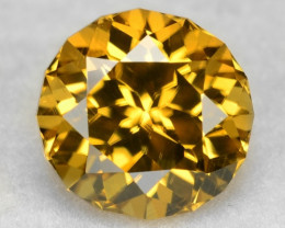 1.69 Ct  Zircon Awesome Color and Top Cut Gemstone ZF12