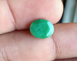 EMERALD GENUINE GEMSTONE JEWELRY SIZE GEM VA1685