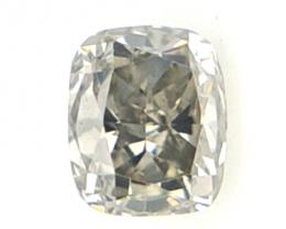 0.16 cts , Grey Natural Diamond , Loose Diamond