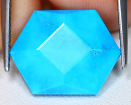 Turquoise 5.91Ct Master Cut Natural Blue Sleeping Beauty Turquoise B3622