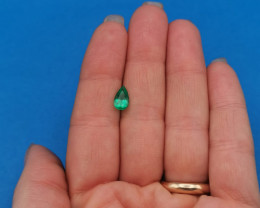 0,96ct Colombian Emeralds Ref 35/75 Colombian Emerald emerald Natural col