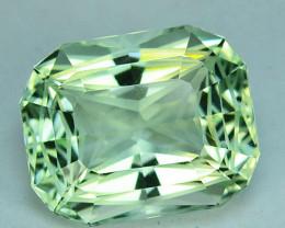 ~CUSTOM CUT~ 6.70 Cts Natural Prasiolite / Amethyst Fancy Cut Brazil