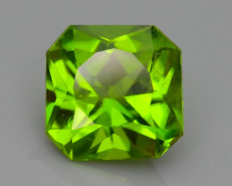 Peridot Pakistan 4.34 ct Amazing Green Color  SKU.7