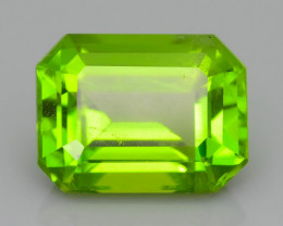 AAA Peridot 5.27 ct Amazing Color, Cut and Clarity   SKU.7
