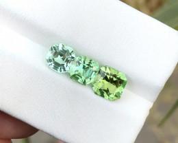 3.50 Ct Natural Blue & Green Transparent Tourmaline Gemstones Parcels