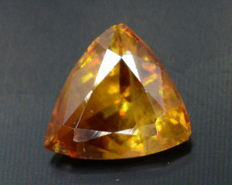 Rare AAA Astonishing Fire 0.75 ct Chrome Sphene