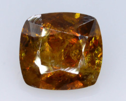 Rare AAA Astonishing Fire 2.90 ct Chrome Sphene