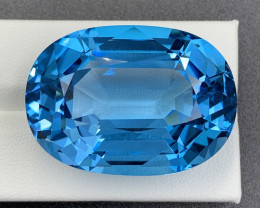 118.66 CT Topaz Gemstones Top Colour Top Luster with fine Cutting Loupe Cle