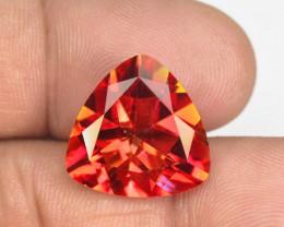 *NoReserve*Mystic Quartz 10.75 Cts Rare Orange Red Color Natural