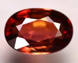 Tourmaline 1.38Ct Natural Reddish Orange Tourmaline E0101/B19