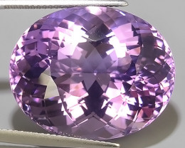 40.10 CTS SUPERIOR! TOP PURPLE-VIOLET-AMETHIYST OVAL GENUINE!!