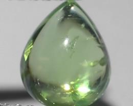 1.40 Cts Natural Shocking Green Tsavorite Garnet Cobochons Kenya, Amazing!