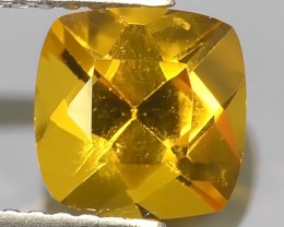 1.55 Cts - Sparkling Luster - Cushion Gem - Natural Fine Yellow~Beryl!!