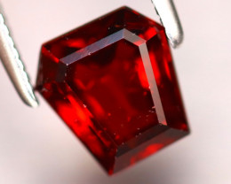 Almandine 1.96Ct Natural Vivid Blood Red Almandine Garnet EF0122/B3
