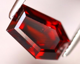 Almandine 2.28Ct Natural Vivid Blood Red Almandine Garnet EF0123/B3