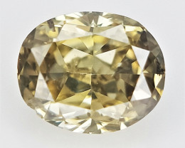 0.11 cts , Color Diamond , Natural Fancy Color Diamond