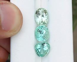 8.80 Ct Superb Green Transparent Ring Size Kunzite Gemstones Parcels