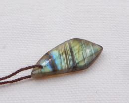 17.5cts LABRADORITE Pendant -Labradorite Stone, Healing Gemstone H935