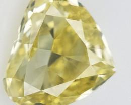 0.15 cts , Rare Color Diamond , Teardrop Modified Brilliant