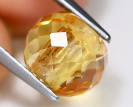 Citrine 3.41Ct VS Briolette Cut Natural Golden Yellow Citrine B3771