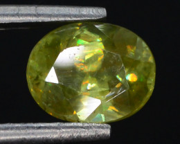 Rare AAA Astonishing Fire 1.10 ct sphene