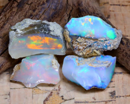 36.20Ct Bright Color Natural Ethiopian Welo Opal Rough AB3723