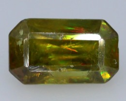 Rarest Unbelievable Fire 1.90 Ct AAA Brilliance Chrome Sphene