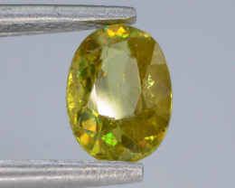 Rare AAA Astonishing Fire 0.75 ct  Sphene