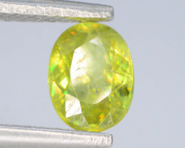 Rare AAA Astonishing Fire 0.95 ct  Sphene