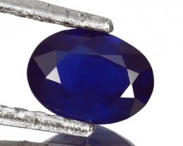 1.40 Cts Excellent Natural Royal Blue Sapphire Africa Gem