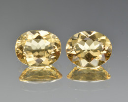 Natural Heliodor Pair 4.51 Cts