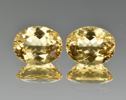 Natural Heliodor Pair 4.77 Cts