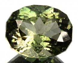 3.42 Cts Natural Tourmaline Custom cut Green Mozambique