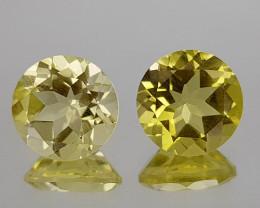 3.48Crt Lemon Quartz Natural Gemstones JI30