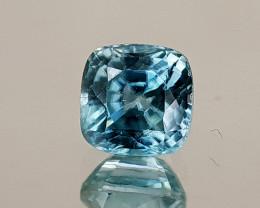1.73Crt Blue Zircon Natural Gemstones JI30