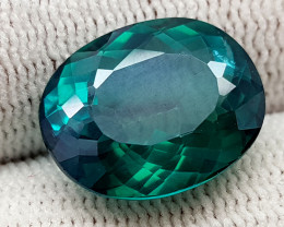 10.53CT GREEN TOPAZ COATED BEST QUALITY GEMSTONE IIGC55