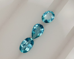 1.41CT NEON BLUE APATITE PARCEL BEST QUALITY GEMSTONE IIGC55