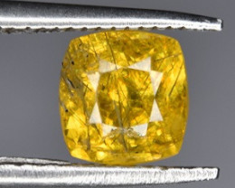 A Beautiful Yellow Sphene 0.90 CTS