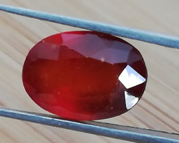 Hessonite, 3.46ct, high quality stone born in Africa!