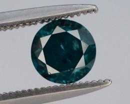Top Quality 0.65 ct Green Diamond~T
