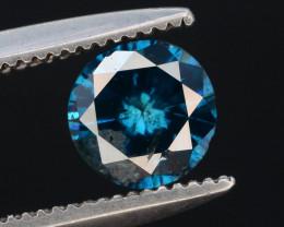 Top Quality 0.50  ct Blue Diamond~T