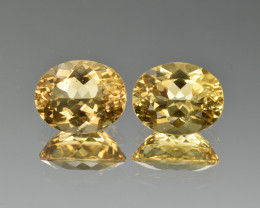 Natural Heliodor Pair 5.03 Cts
