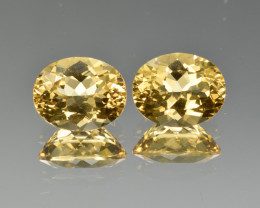Natural Heliodor Pair 5.15 Cts