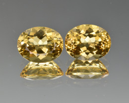 Natural Heliodor Pair 5.28 Cts