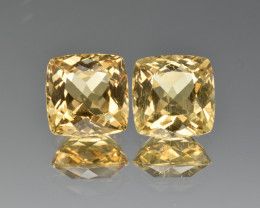 Natural Heliodor Pair 6.50 Cts