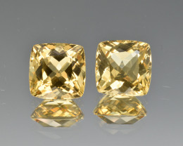 Natural Heliodor Pair 6.70 Cts
